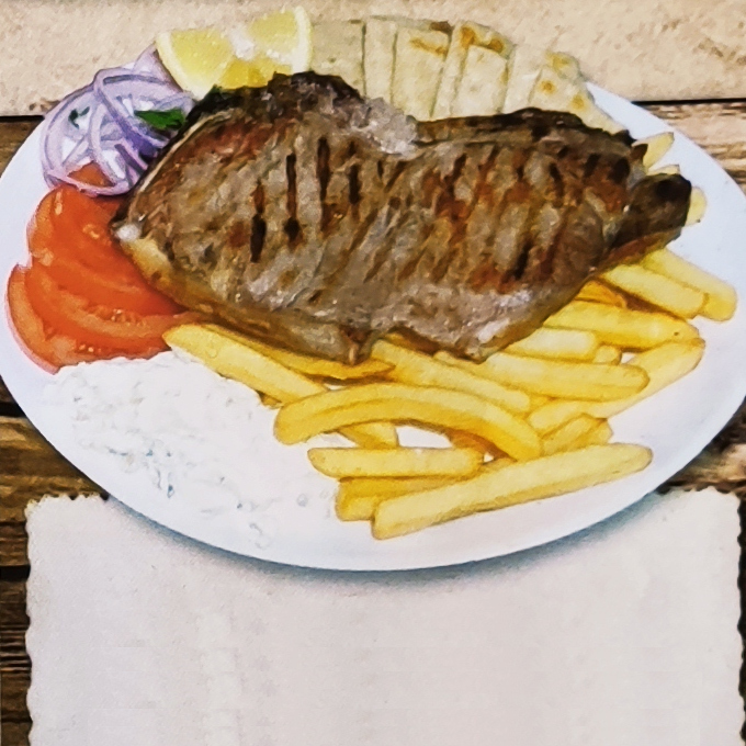 Giant beef steak